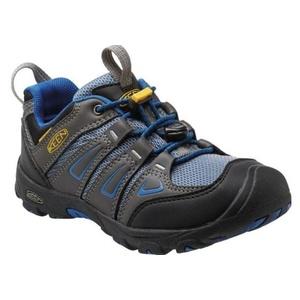 Children boots Keen OAKRIDGE LOW WP JR, magnet / true blue, Keen