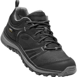 Women boots Keen Terrador Leather WP W, black / steel grey, Keen