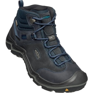 Men boots Keen Wanderer MID WP M dark sea / night, Keen