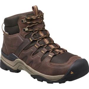 Men boots Keen Gypsum II MID WP M, coffee bean / bronze mist, Keen
