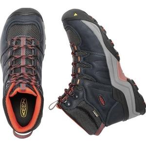 Men boots Keen Gypsum II MID WP M, india ink / burnt ochre, Keen