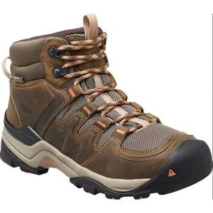 Women boots Keen Gypsum II MID W, cornstock / gold coral, Keen