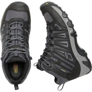 Men boots Keen Oakridge MID WP M, magnet / gargoyle, Keen