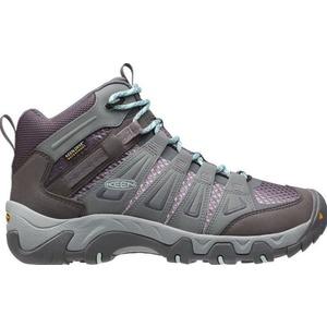 Women boots Keen Oakridge MID WP W gray / shark, Keen