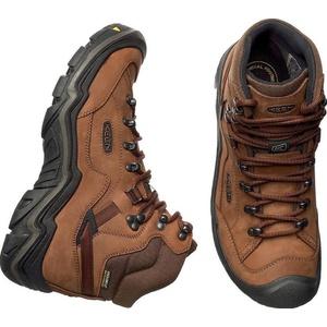 Men boots Keen Galleo MID WP M, cognac / dark chocolate, Keen