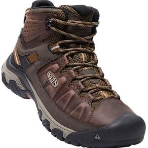 Men boots Keen Targee 3rd MID WP M, big ben / golden brown, Keen
