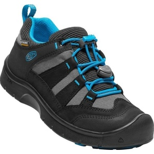 Children boots Keen Hikeport WP Jr, black / blue jewel, Keen