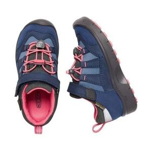 Children boots Keen Hikeport WP Jr, dress blues / sugar coral, Keen