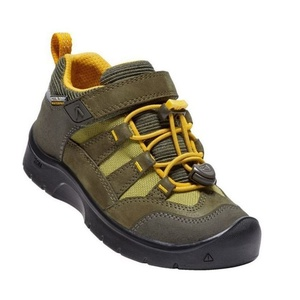 Children boots Keen Hikeport WP K, dark olive / citrus, Keen