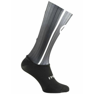 Aerodynamic functional socks Rogelli AERO, black and gray 007.004, Rogelli