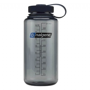 Bottle Nalgene Wide Mouth 1l 682009-0070 gray, Nalgene