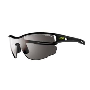 Sun glasses Julbo LOOP AERO SP3, black / black logo yellow, Julbo