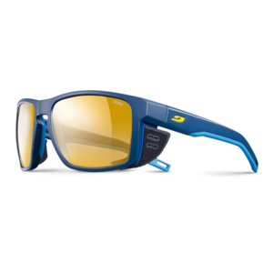 Sun glasses Julbo SHIELD Zebra blue / blue / yellow, Julbo