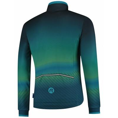 Ultralight cycling jacket Rogelli SOUL, blue-green 003.418, Rogelli
