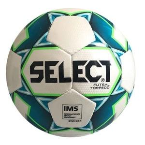 Futsal ball Select FB Futsal Torpedo white blue, Select