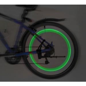 Shining valve to round LED 2ks Compass Green, Compass