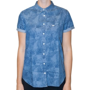 Shirts Lee Ultimate SS Delft blue, Lee