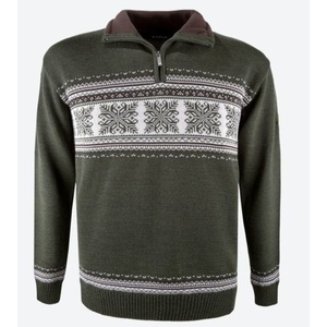 Sweater Kama L139 106 dark green, Kama