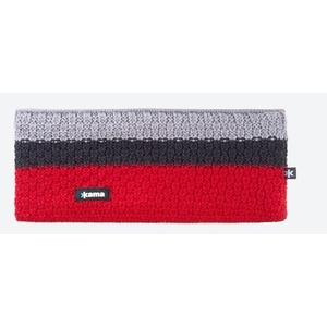 Knitted Merino headband Kama C39 104 red, Kama