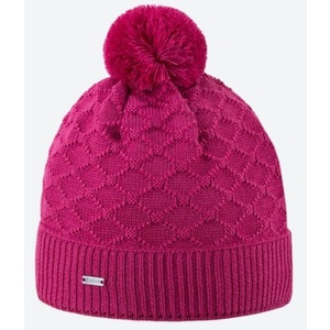 Knitted Merino cap Kama A124 114 pink