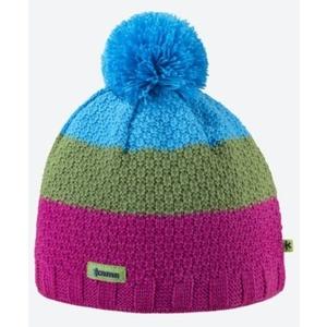 Knitted Merino cap Kama A126 114 pink