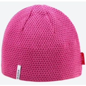 Knitted Merino cap Kama AW62 114 pink, Kama