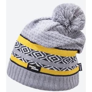 Knitted Merino cap Kama KW06 109 light grey, Kama