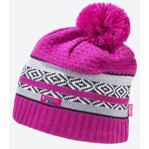 Knitted Merino cap Kama KW06 114 pink, Kama