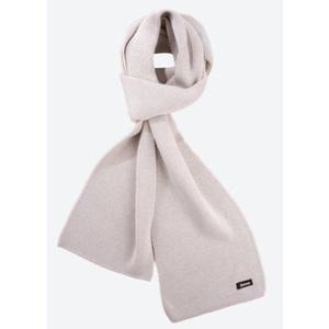 Knitted Merino scarf Kama S22 112 beige, Kama