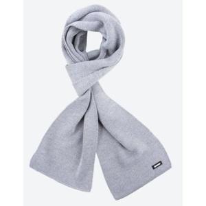 Knitted Merino scarf Kama S22 109 light grey, Kama