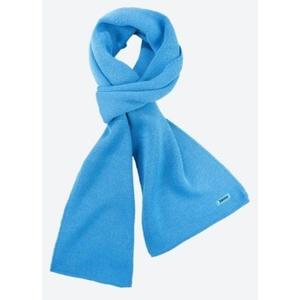 Knitted Merino scarf Kama S22 115 turquoise, Kama
