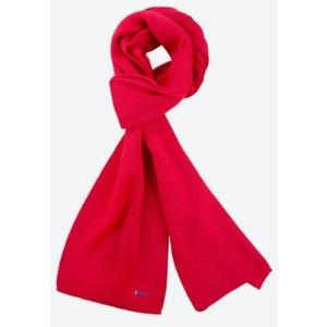 Knitted Merino scarf Kama S22 104 red, Kama