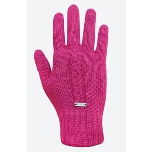 Knitted Merino gloves Kama R103 114 pink, Kama
