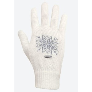 Knitted Merino gloves Kama R104 101 naturally white, Kama