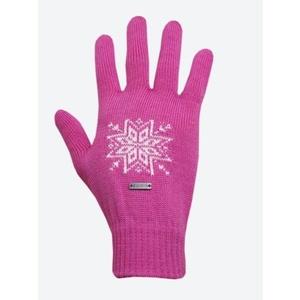 Knitted Merino gloves Kama R104 114 pink, Kama