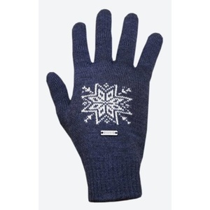 Knitted Merino gloves Kama R104 108 dark blue, Kama