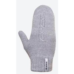Knitted Merino gloves Kama R105 109 light grey, Kama