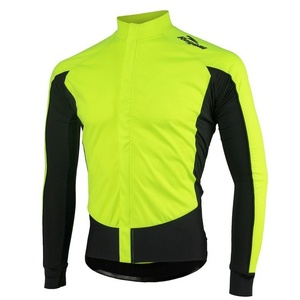 Bike jersey Rogelli W2, 001.850 reflection yellow-black, Rogelli