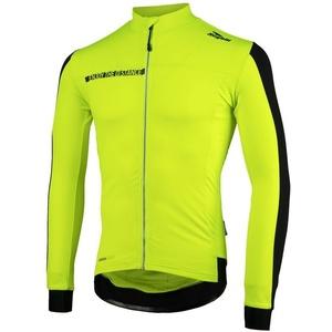 Bike jersey Rogelli AQUABLOC, 001.860. reflection yellow-black, Rogelli