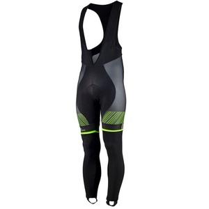 Exclusive cycling pants Rogelli Ritmo 002.261. black and green, Rogelli