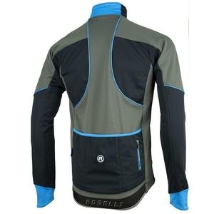 Men softshell jacket Rogelli TRANI 4.0, 003.124. black-blue, Rogelli