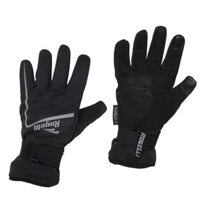Men cycling gloves Rogelli Shield, 006.128. black, Rogelli
