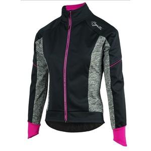 Women cycling jacket Rogelli Carlyn 2.0, 010.306. black-gray-pink, Rogelli