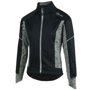 Women cycling jacket Rogelli Carlyn 2.0, 010.307. black and gray, Rogelli