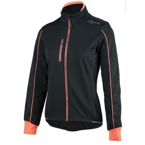 Women cycling jacket Rogelli Camilla 3.0, 010.308. black-pink, Rogelli
