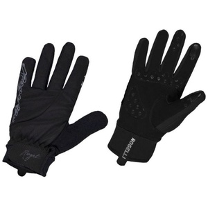 Women cycling gloves Rogelli Storm, 010.655. black, Rogelli