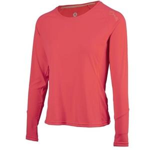Women sports functional shirt Rogelli BASIC with long sleeve, 801.255. pink, Rogelli