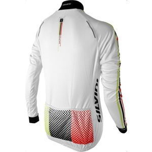 Women's cycling jersey Silvini TEAM WD834 white, Silvini