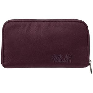 Wallet JACK WOLFSKIN Casherella, burgundy 2810, Jack Wolfskin