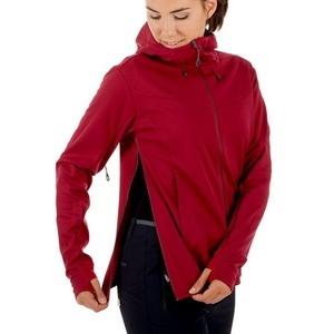 Women jacket Mammut Ultimate V SO Hooded, 3496 beet-beet melange, Mammut